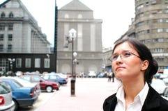 i stadens centrum affär Royaltyfri Foto