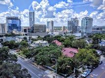 I stadens centrum Austin Texas Royaltyfri Foto