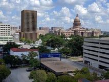I stadens centrum Austin Texas Arkivfoton