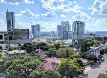 I stadens centrum Austin Texas Arkivbild
