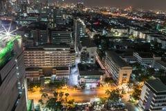 i stadens centrum bangkok Royaltyfria Foton