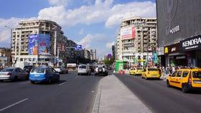 I stadens centrum Bucharest Royaltyfria Foton