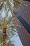 I stadens centrum byggnader Royaltyfri Fotografi