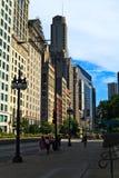 i stadens centrum chicago Royaltyfri Foto
