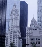 i stadens centrum chicago Royaltyfri Foto