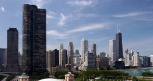 i stadens centrum chicago Arkivfoton
