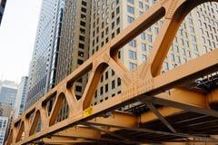 I stadens centrum Chicago Royaltyfria Foton