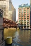 I stadens centrum Chicago Royaltyfria Bilder