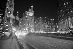 I stadens centrum Chicago Royaltyfri Fotografi