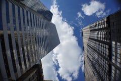 I stadens centrum Chicago Fotografering för Bildbyråer