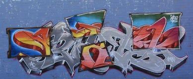 Grafitti i staden Royaltyfri Bild