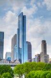 I stadens centrum Chicago, IL Royaltyfri Fotografi