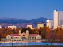 I stadens centrum Denver Arkivbilder
