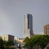 I stadens centrum Denver Building Arkivbild