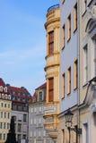 I stadens centrum Dresden Royaltyfri Bild