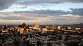 I stadens centrum El Paso, Texas Fotografering för Bildbyråer