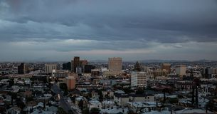 I stadens centrum El Paso, Texas Royaltyfri Foto