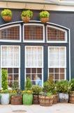 i stadens centrum facadephiladelphia restaurang Royaltyfri Bild