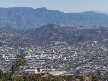 I stadens centrum flyg- sikt av Glendale royaltyfri bild