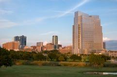 i stadens centrum Fort Worth Royaltyfria Foton
