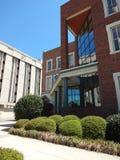 I stadens centrum Greensboro, North Carolina Arkivbilder