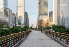 I stadens centrum Guangzhou, Kina Royaltyfria Foton