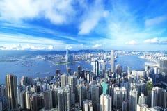i stadens centrum Hong Kong royaltyfri foto