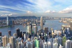 i stadens centrum Hong Kong royaltyfri bild