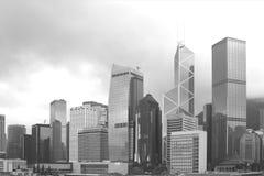 i stadens centrum Hong Kong Royaltyfri Fotografi