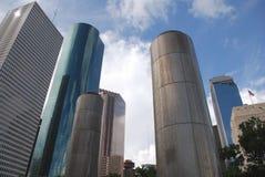 i stadens centrum houston Arkivbild