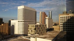 i stadens centrum houston Royaltyfri Bild