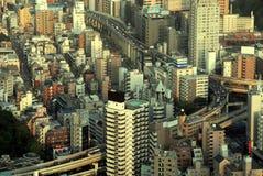 i stadens centrum huvudväg tokyo Arkivfoton