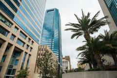 I stadens centrum Jacksonville Royaltyfri Fotografi