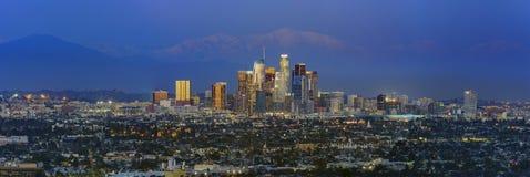 I stadens centrum klassisk sikt av Los Angeles Royaltyfri Foto