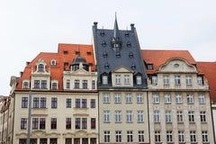 I stadens centrum Leipzig Royaltyfri Fotografi