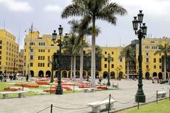 I stadens centrum Lima Royaltyfri Fotografi