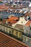 i stadens centrum lisbon Royaltyfria Bilder
