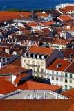 I stadens centrum LIsbon, Portugal Arkivfoto