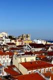 I stadens centrum Lisbon, Portugal Fotografering för Bildbyråer