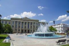I stadens centrum list royaltyfria bilder