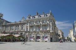 I stadens centrum list - Dohodno zdaniebyggnad Royaltyfri Foto