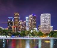 I stadens centrum Los Angeles royaltyfria bilder
