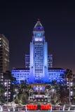 I stadens centrum Los Angeles stadshus royaltyfri bild