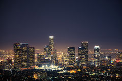 I stadens centrum Los Angeles USA Royaltyfri Foto