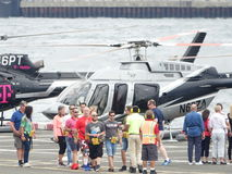 I stadens centrum Manhattan heliport 16 Royaltyfria Foton