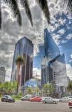 I stadens centrum Mexico - stad arkivfoto