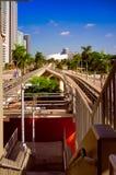 I stadens centrum Miami arkivfoton