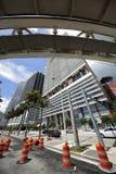 I stadens centrum Miami plats Royaltyfri Bild