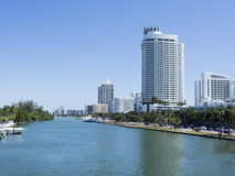 I stadens centrum Miami, USA Royaltyfria Foton