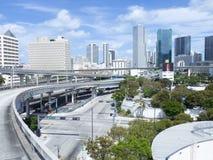 I stadens centrum Miami, USA Royaltyfri Bild